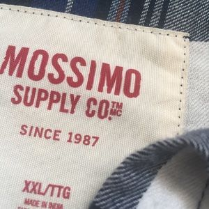 Mossimo Supply Co. Tops - Mossimo Supply Co. Blue Flannel